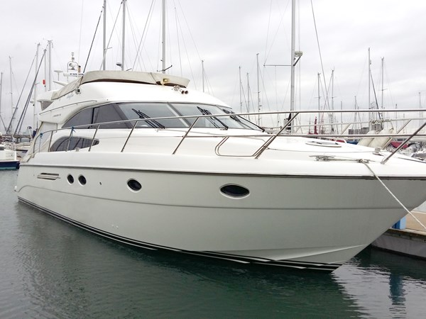 Princess 50 hull profile