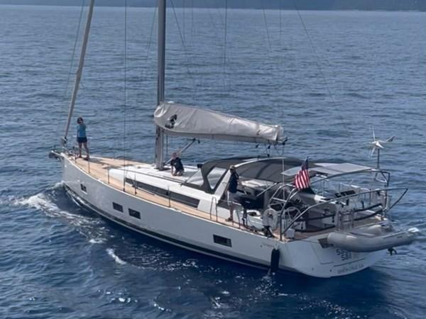 Beneteau Oceanis 55 - Sage Sail