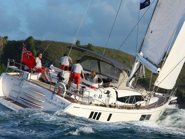 For sale - Gunfleet 58 sailing