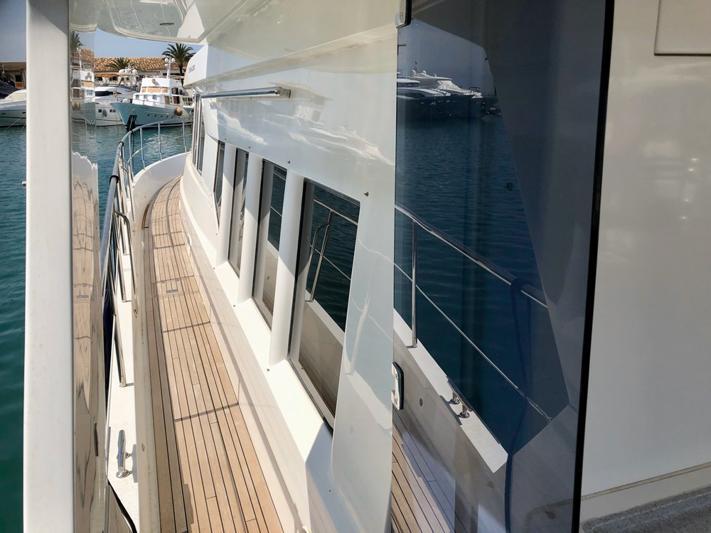 Used Trader 64 Sunliner Power Boat For Sale   Boat Ref ...