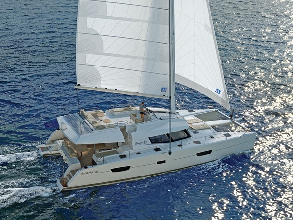 Fountaine Pajot Ipanema 58 Maestro under sail