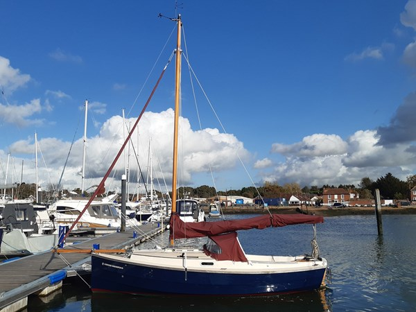 Cornish Crabber Shrimper 21 for sale