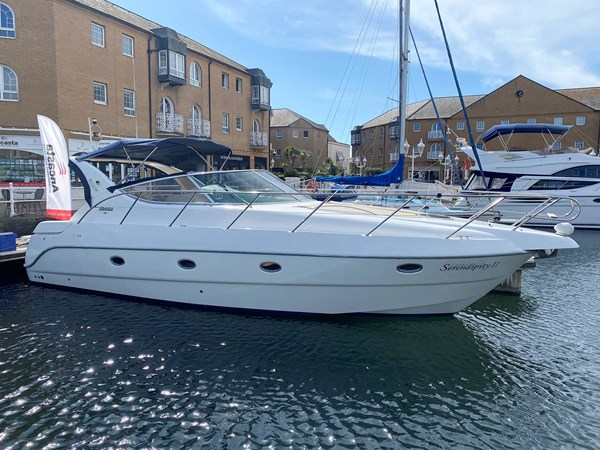 Sessa Oyster 34 1999- Starboard without Bimini